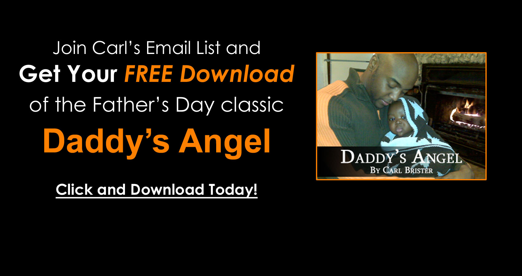 Join Carl's Email List and Get Your FREE DOWNLOAD!