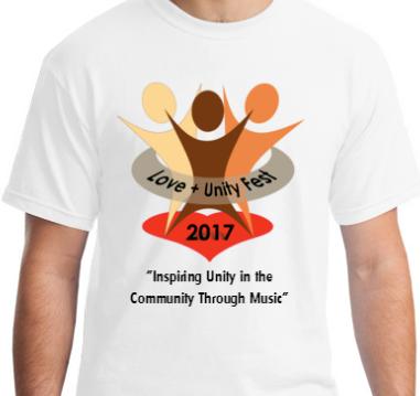 2017 Love+Unity Fest Tshirt