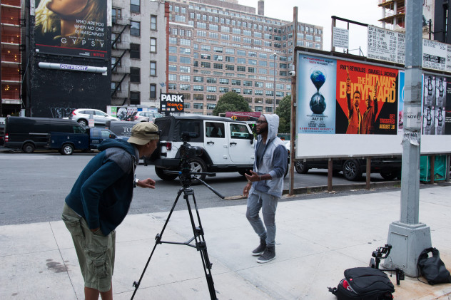 Had to get this scene just right.  When you see the video you'll see why.  hint (watch the billboard in the background)