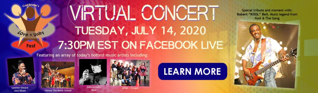 Love+Unity Fest Virtual Concert